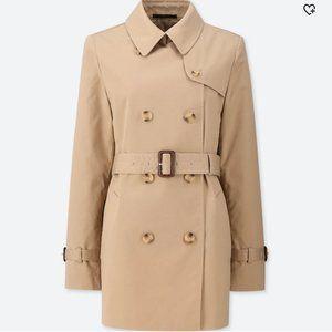 Uniqlo Short Trench Coat